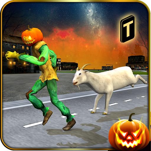 Goat-Z in Zombie City -