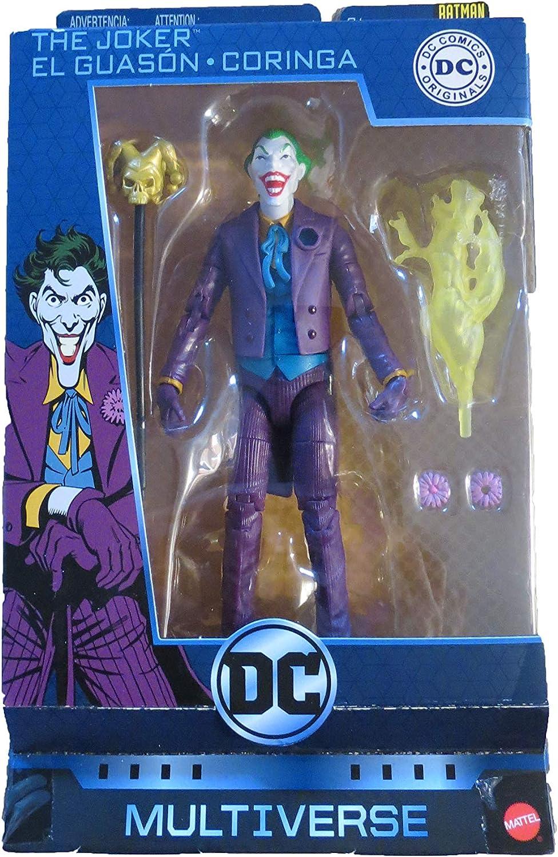 Poison Ivy Batman 80 Years Originals The Joker DC Multiverse Set of 3  Batman