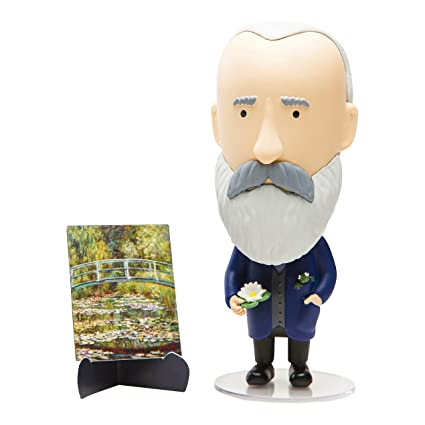 Today is Art Day - Famous Painters and Artists Action Figure Dolls - Monet  - PVC - 5