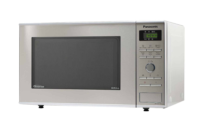 Panasonic NN-GD371SEPG - Microondas (950W, 23 litros), color gris ...