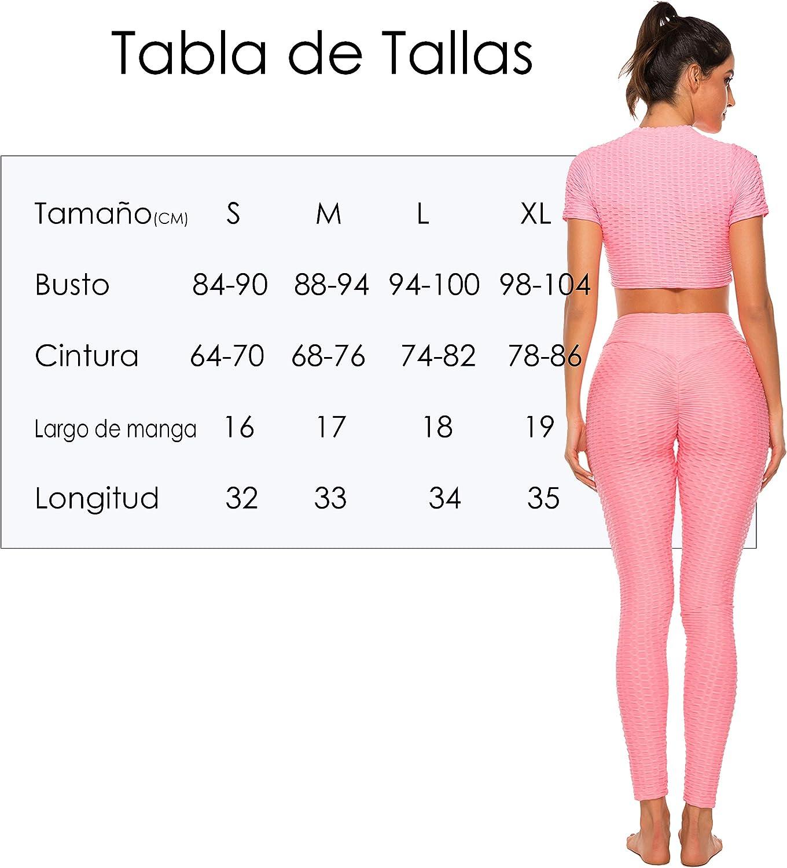 FITTOO Mallas Pantalones Deportivos Leggings Mujer Yoga de Alta Cintura El/ásticos y Transpirables para Yoga Running Fitness con Gran El/ásticos1090