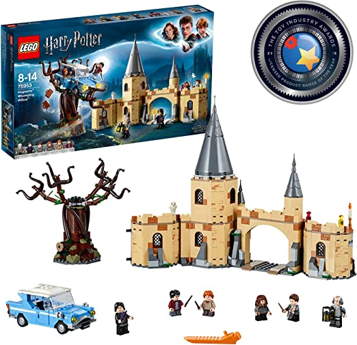 LEGO 75953 Harry Potter Sauce Boxeador de Hogwarts Juguete de Construcción con Ford Anglia, 6 Mini Figuras y Lechuza Hedwig