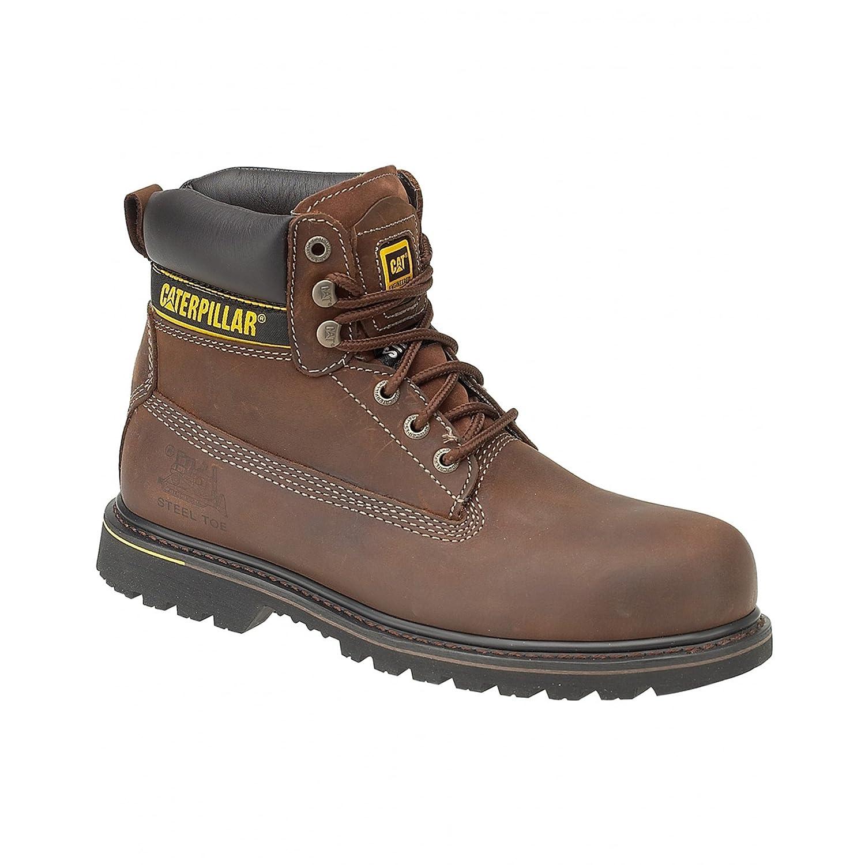 Cat Footwear Holton SB - Botas de seguridad para hombre 41 EU Marrón Oscuro
