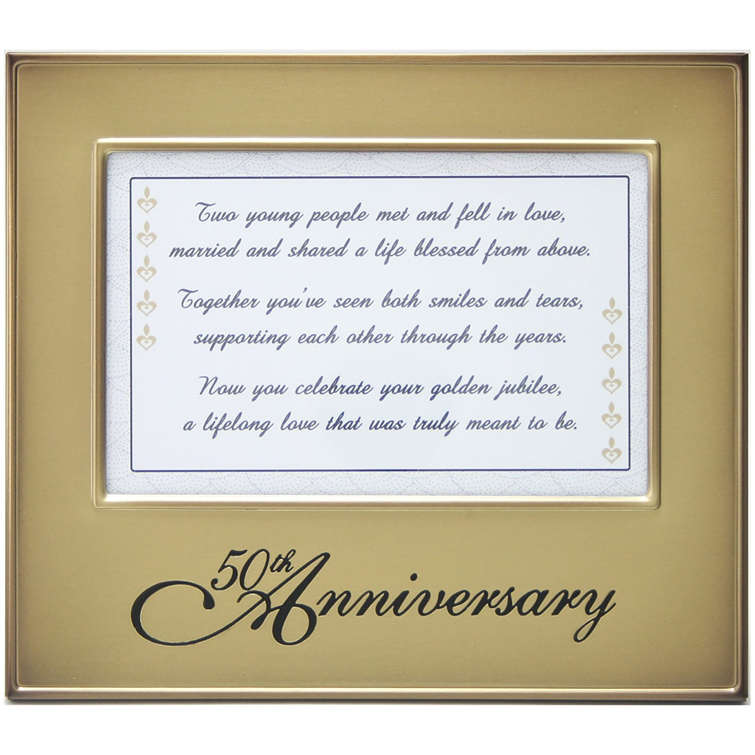 Amazoncom Jubilee Celebrations 50th Anniversary Frame With Toast