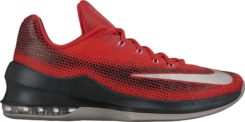 Nike Air Max Infuriate Low Sneaker Turnschuhe Basketballschuhe Schuhe fuuml;r Herren  9.5|UNIVERSITY RED/WHITE-BLACK