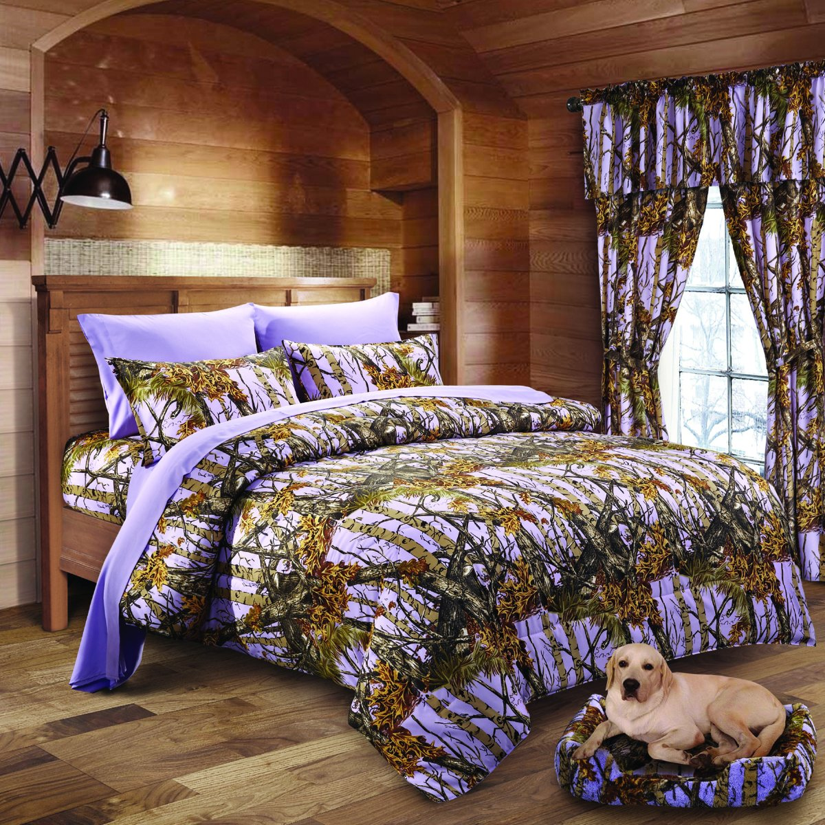 20 Lakes Woodland Hunter Camo Comforter