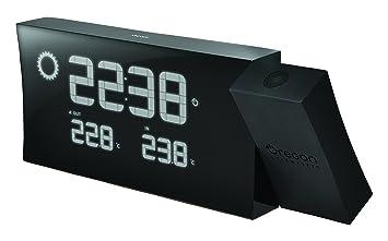 Oregon Scientific BAR223PN_BK - Reloj Digital PRYSMA con previsión meteorológica, temperatura y alarma, color Negro: Amazon.es: Electrónica