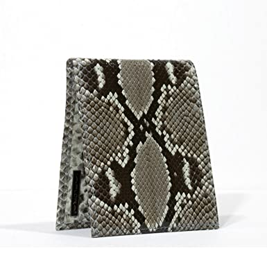 Image Unavailable. Image not available for. Color  Implora Genuine Python  Snakeskin Leather Wallet 969b751c3d