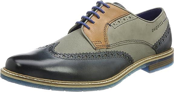 bugatti 312259041111, Zapatos de Cordones Derby para Hombre