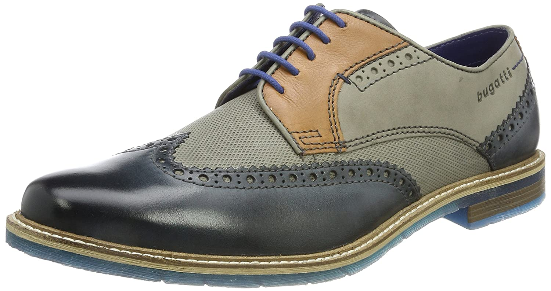TALLA 40 EU. Bugatti 312259041111, Zapatos de Cordones Derby para Hombre
