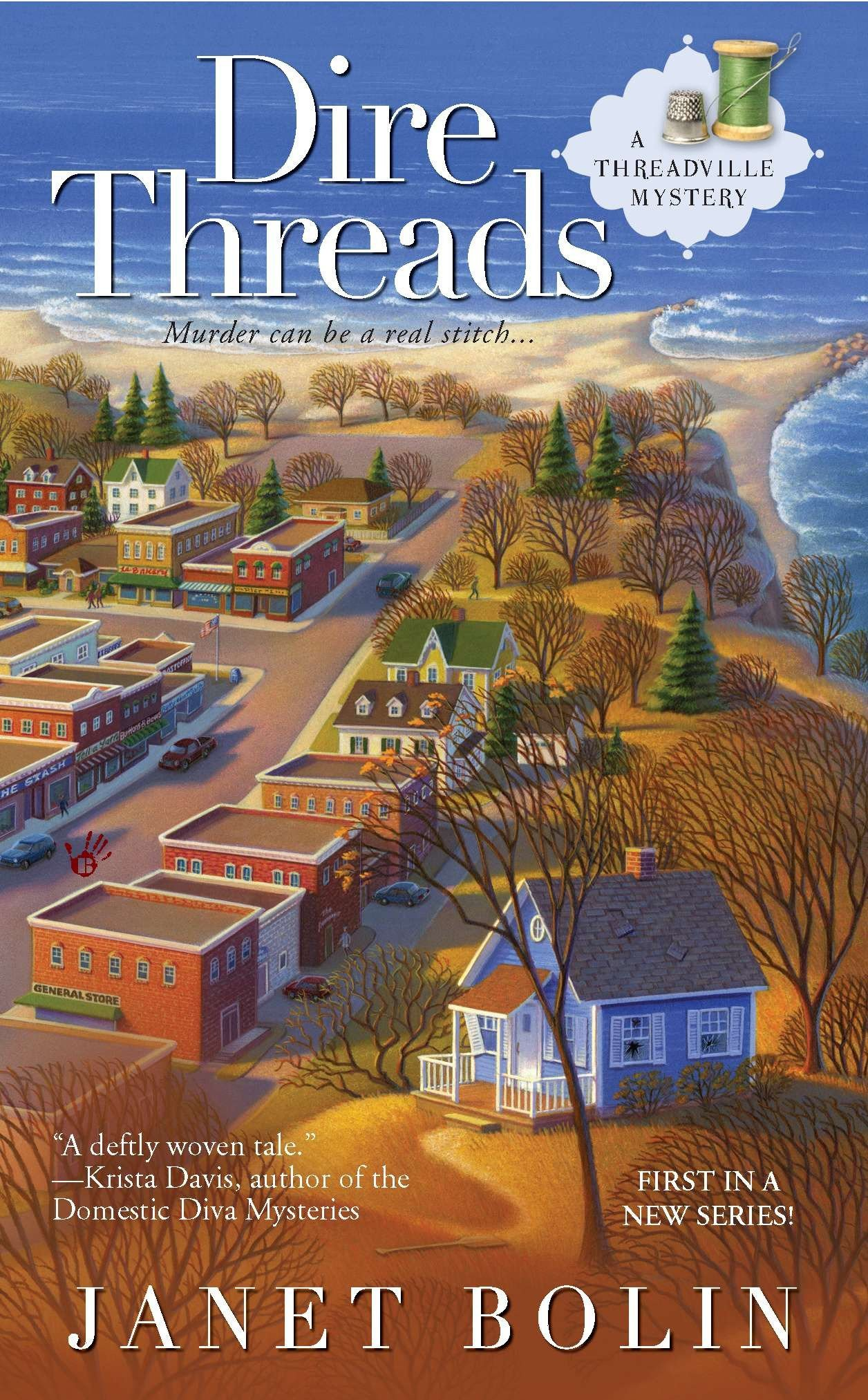 Download Dire Threads (A Threadville Mystery) PDF