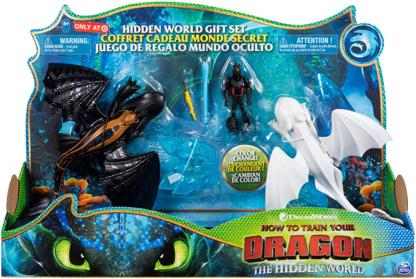 Amazon Com How To Train Your Dragon 3 The Hidden World Gift Set Toothless And Lightfury Dragons With Hiccup And Color Change Reveal Crysta Toys Games 1920x1080 toothless, night fury, how to train your dragon, how to train your dragon 2, dragon, fish, movies wallpapers hd / desktop and mobile backgrounds. how to train your dragon 3 the hidden world gift set toothless and lightfury dragons with hiccup and color change reveal crysta