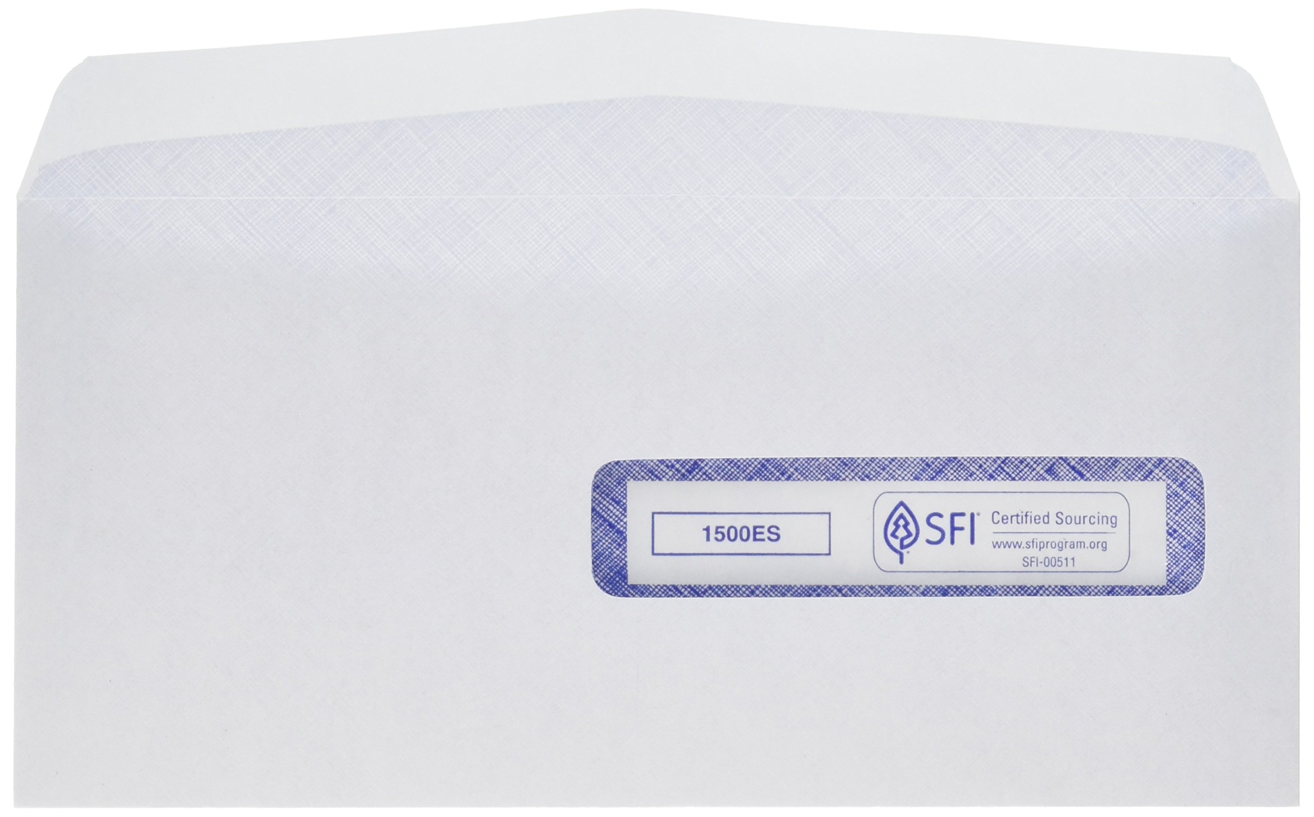 CMS-1500#10-1/2 (4-1/2'' x 9-1/2'') Window Envelope, Self Seal (500/Box)