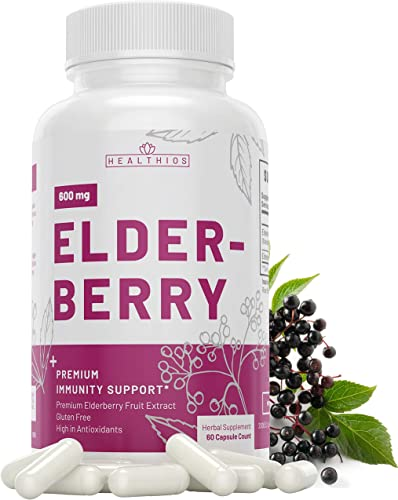 Healthios Elderberry Immune Support Capsule