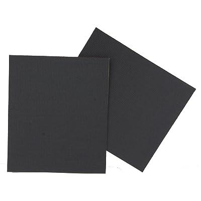 10T PATCH IT Autocollants réparation tente Noir 10 x 12 cm