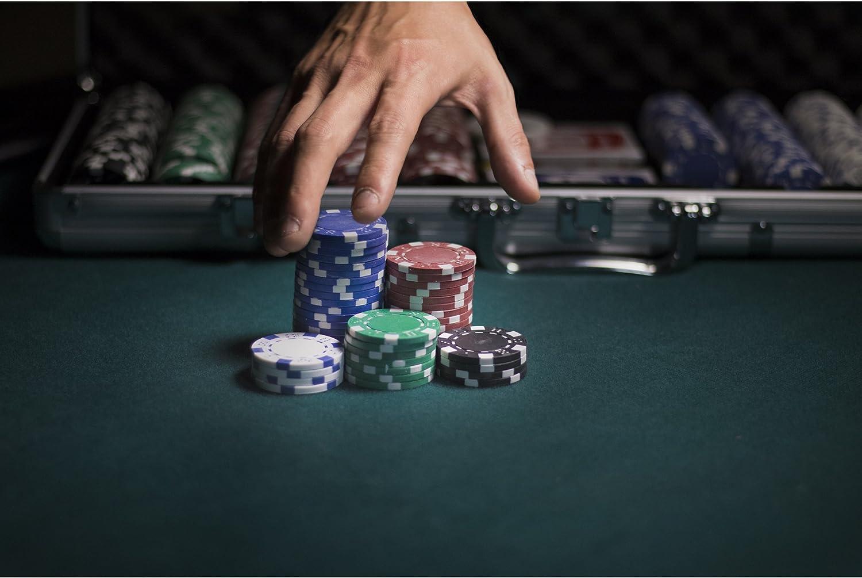 Set Poker 500 Jetons 11,5 Gramm Texas Hold Em Clay.