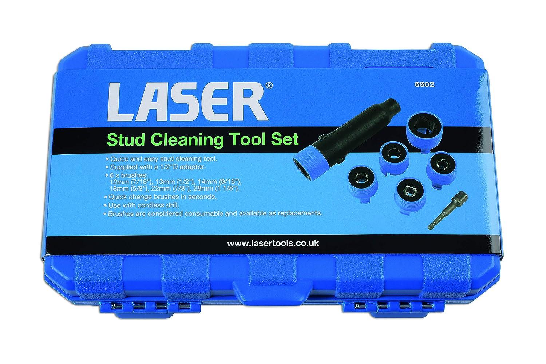 Laser TOOLS LAS6602 6602 Stud Cleaning Tool Set