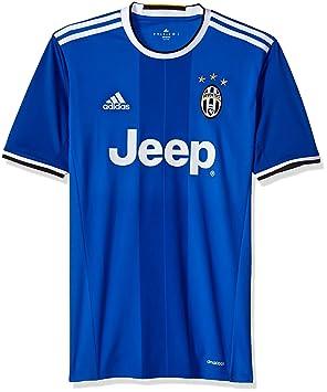 Camiseta de fútbol internacional para hombre - S1606LHAG810, Azul vivo/Blanco