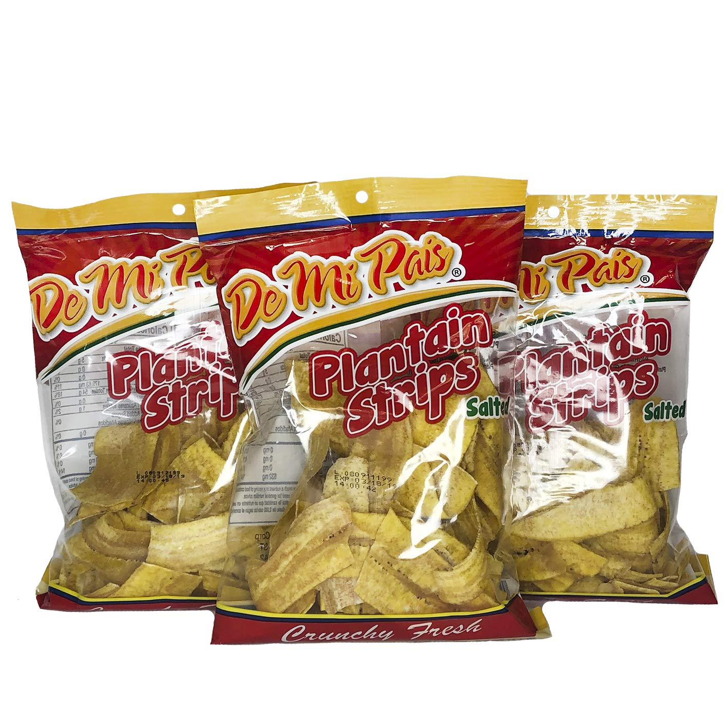 DMP Salted Plantain Strips 24-PACK