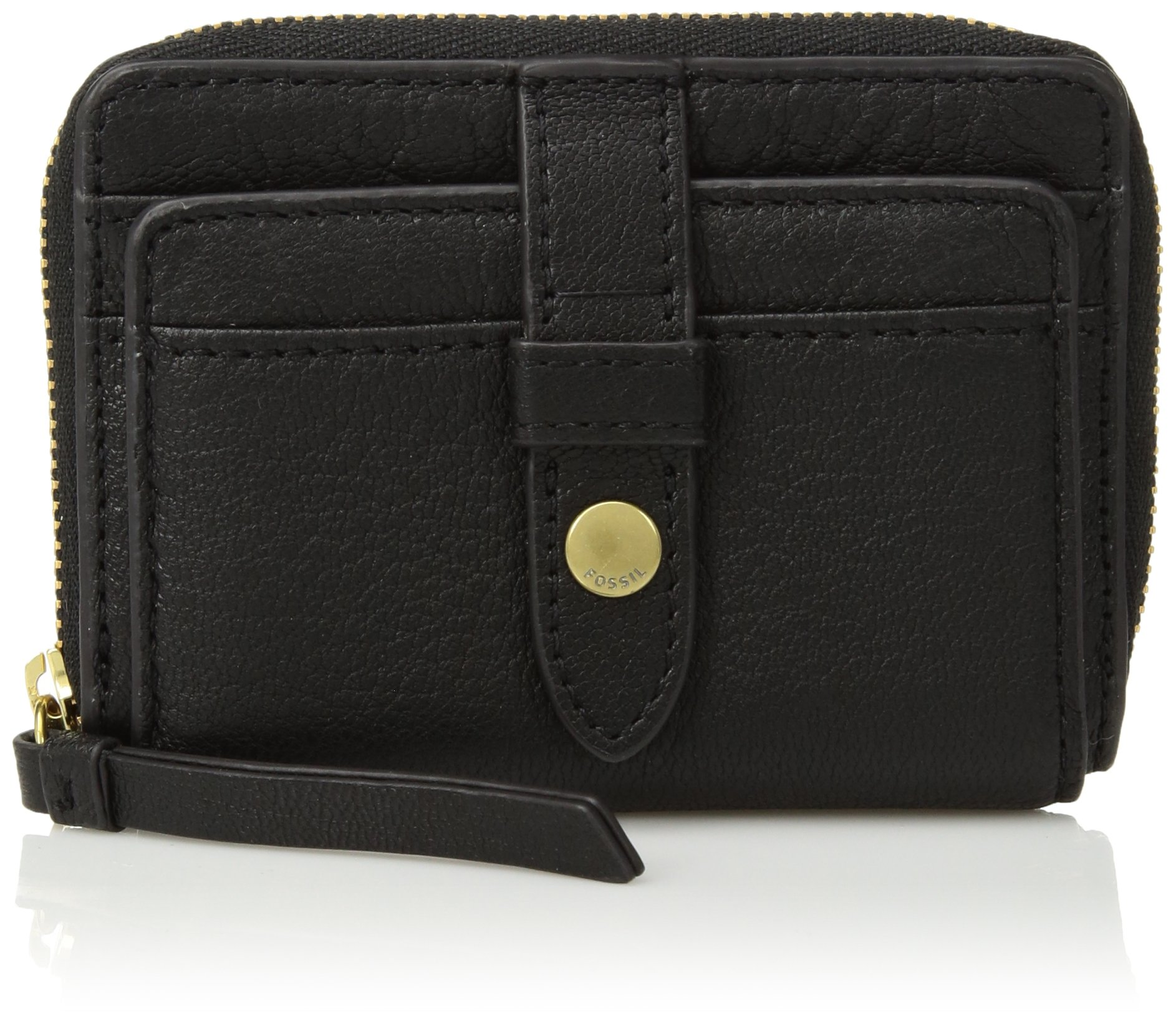 Fossil FIONA ZIP COIN PURSE, Black