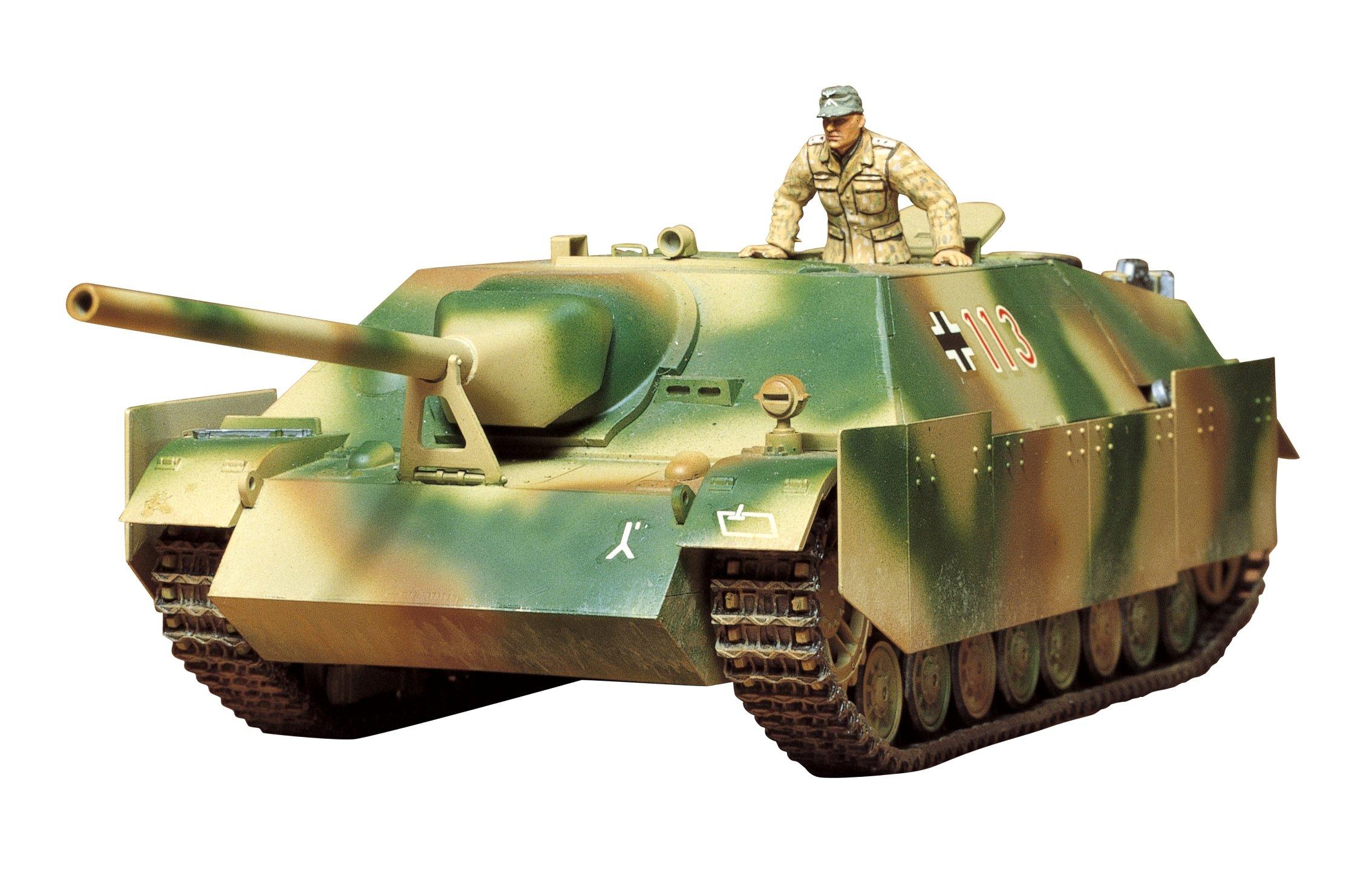 Tamiya 300035088-1: 35WWII Special Automotive 162Jagdpanzer IV L/70