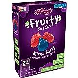 Kellogg's Fruity Snacks, Mixed Berry, Gluten Free, Fat Free, 17.6 oz (22 Pouches)