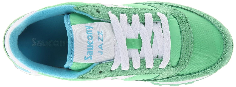 Saucony Jazz Original unisex erwachsene, wildleder, sneaker low Vert Clair/Blanc Clair/Blanc Vert a6ce38