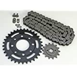 1991-2008 Honda CB250 250 Nighthawk O Ring Chain And Sprocket 14/33 106L