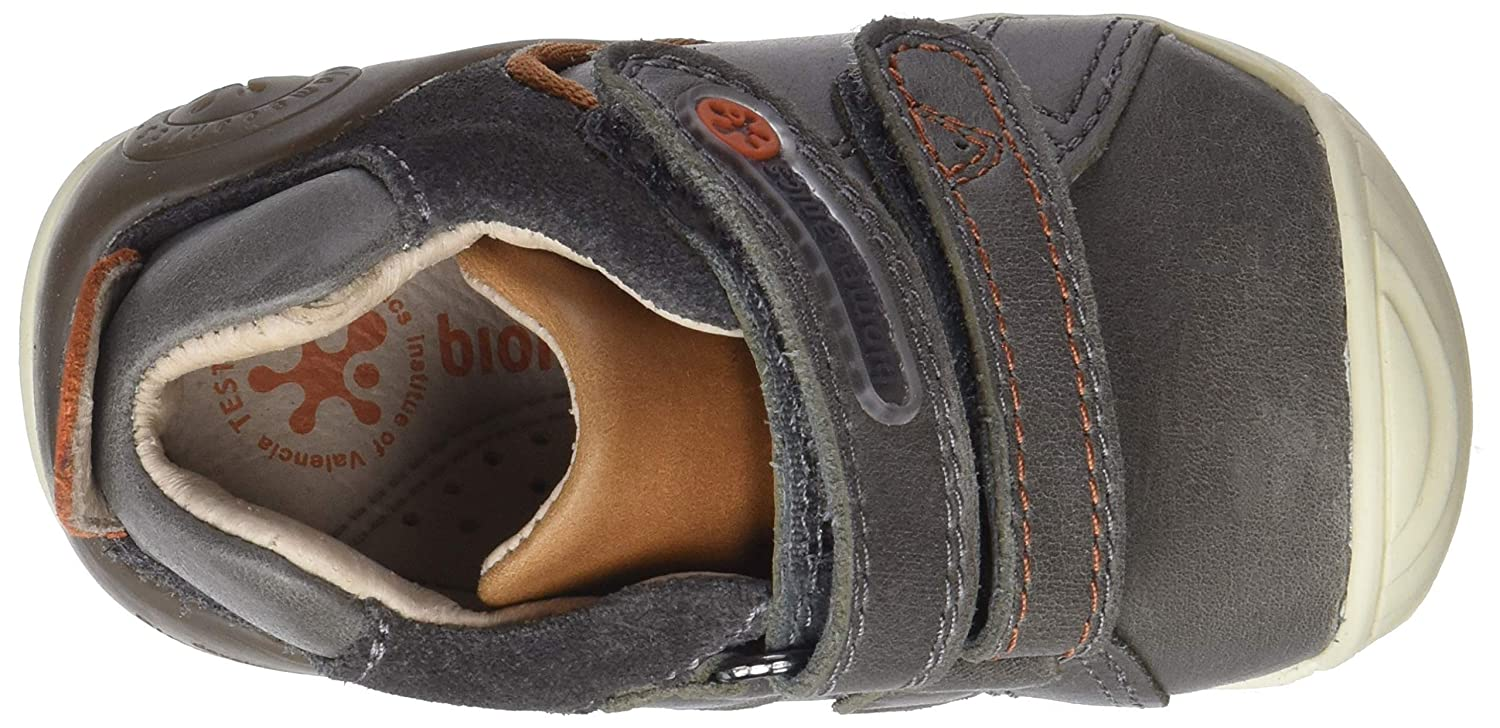 Garvalin Boys Matias First Leather Protective Rip Tape Shoes 3//19 Grey