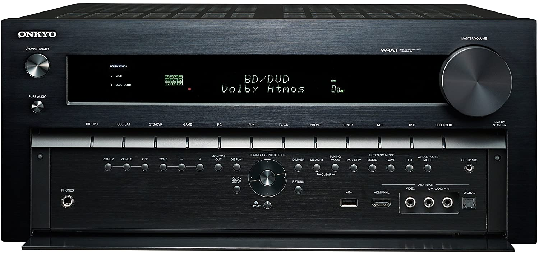 Onkyo TX-NR3030 11.2-Ch Dolby Atmos Ready Network A//V Receiver w// HDMI 2.0