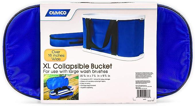 Kampa Rectangular Washing Bowl BLUE Collapsible Camping Caravan Storage