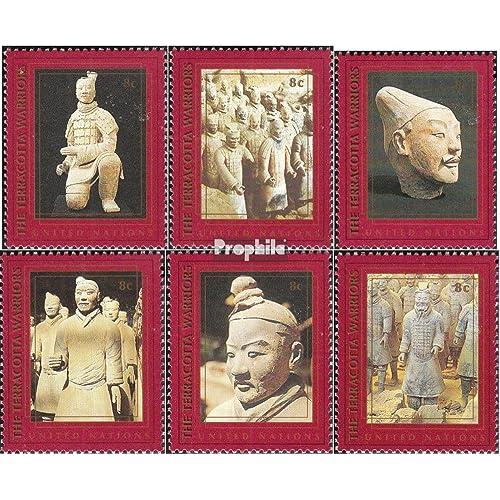 Nations unies - Nouveau York 750-755 (complète.Edition.) 1997 Culture- et patrimoine naturel (Timbres pour les collectionneurs)