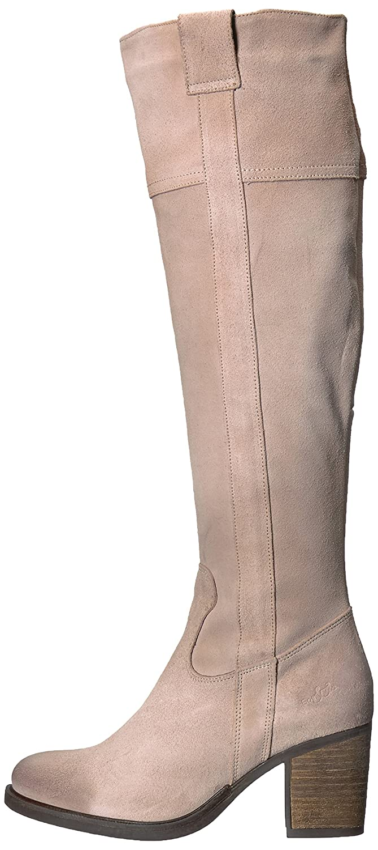 Bos. & Co.. Women's Horton Knee High EU Boot B06WW7RNTL 37 M EU High (6.5-7 US)|Nude Oil Suede ae4ce9