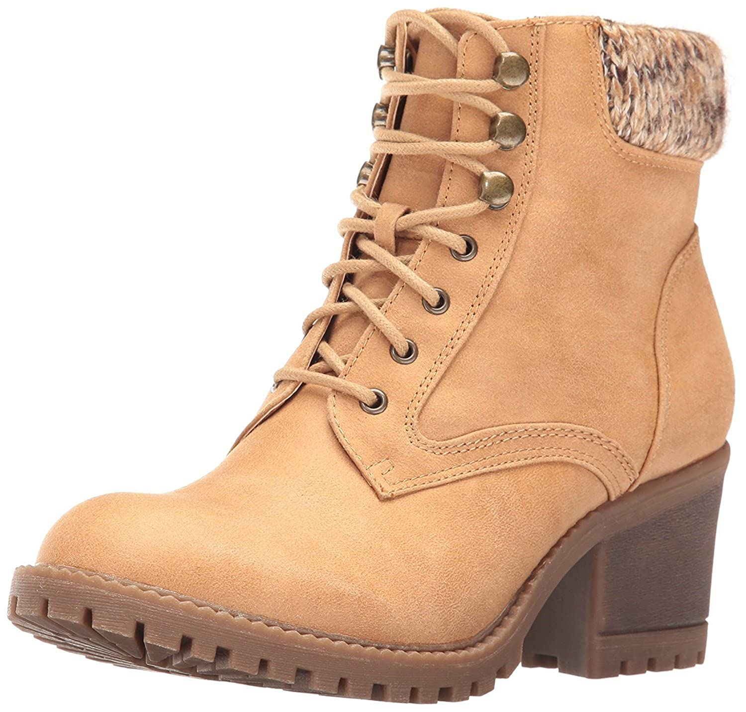 Cliffs by White Mountain Womens Closed Tulane Leather Closed Womens Toe Wheat Size 10.0 B07CCKK7PN Parent f57080