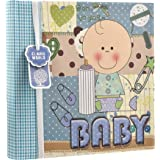 "Arpan–Baby Boy azul/bebé niña rosa álbum de fotos de en la portada (200fotos de 6""x4Ideal regalo azul azul"