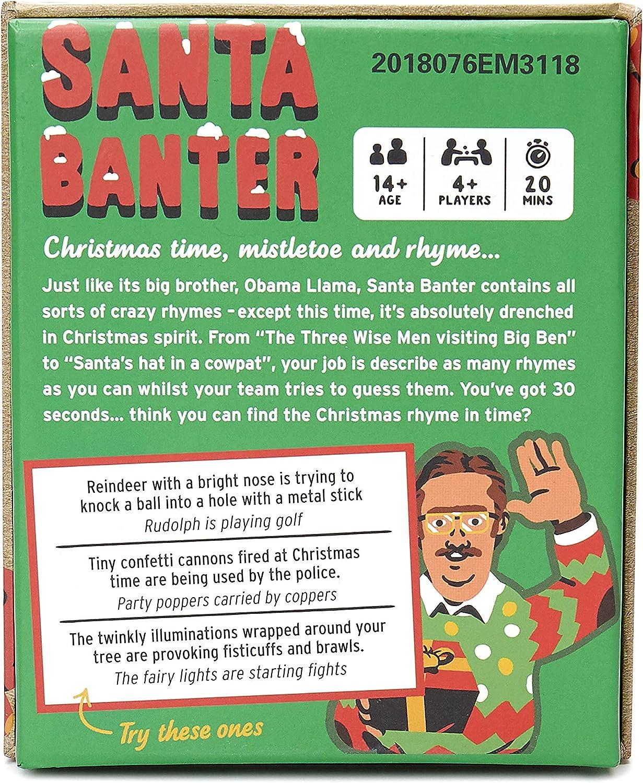 Big Potato Santa Banter Hilarious Christmas Game Best Christmas Board Games For Families Amazon Co Uk Toys Games