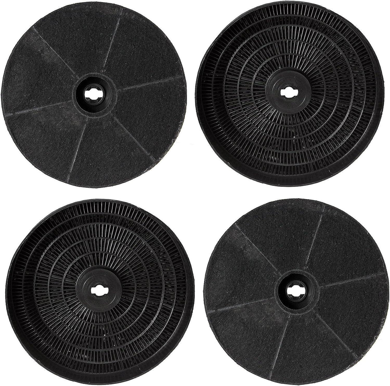 Spares2go Carbón Carbón Ventilación Filtro para campana de cocina Balay extractor de ventilación (173 mm, pack de 4): Amazon.es: Hogar