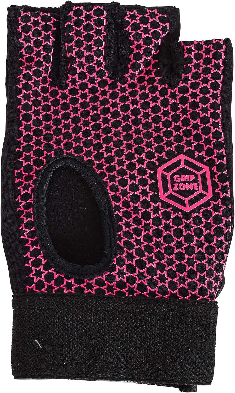 pink Reece Comfort Half Finger Glove