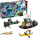 LEGO Hidden Side Wrecked Shrimp Boat 70419 Building Kit, App Toy for 7+ Year Old Boys and Girls, Interactive Augmented Reality Playset, New 2019