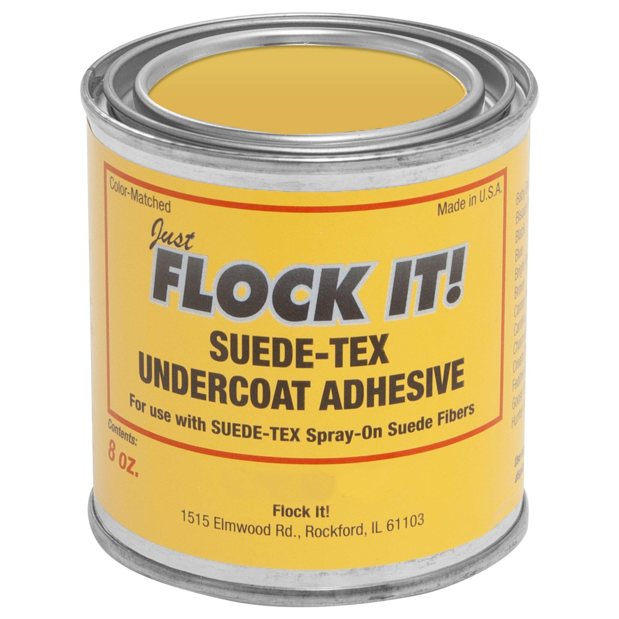 Suede-Tex Undercoat Adhesive - Wine - 8 OZ Can