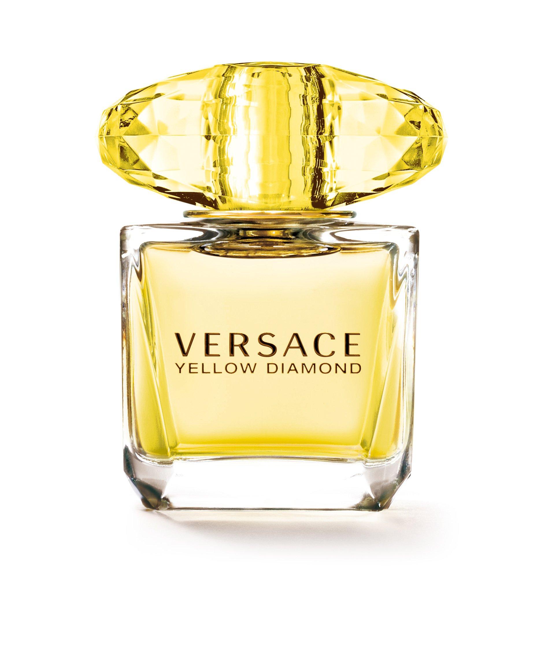 Versace Eau de Toilette Spray, Yellow Diamonds, 1.0 Fluid Ounce