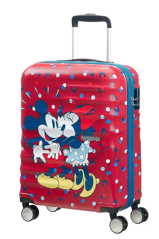 American Tourister - Disney Wavebreaker Spinner, 55 cm, 36 L, Minnie Loves Mickey