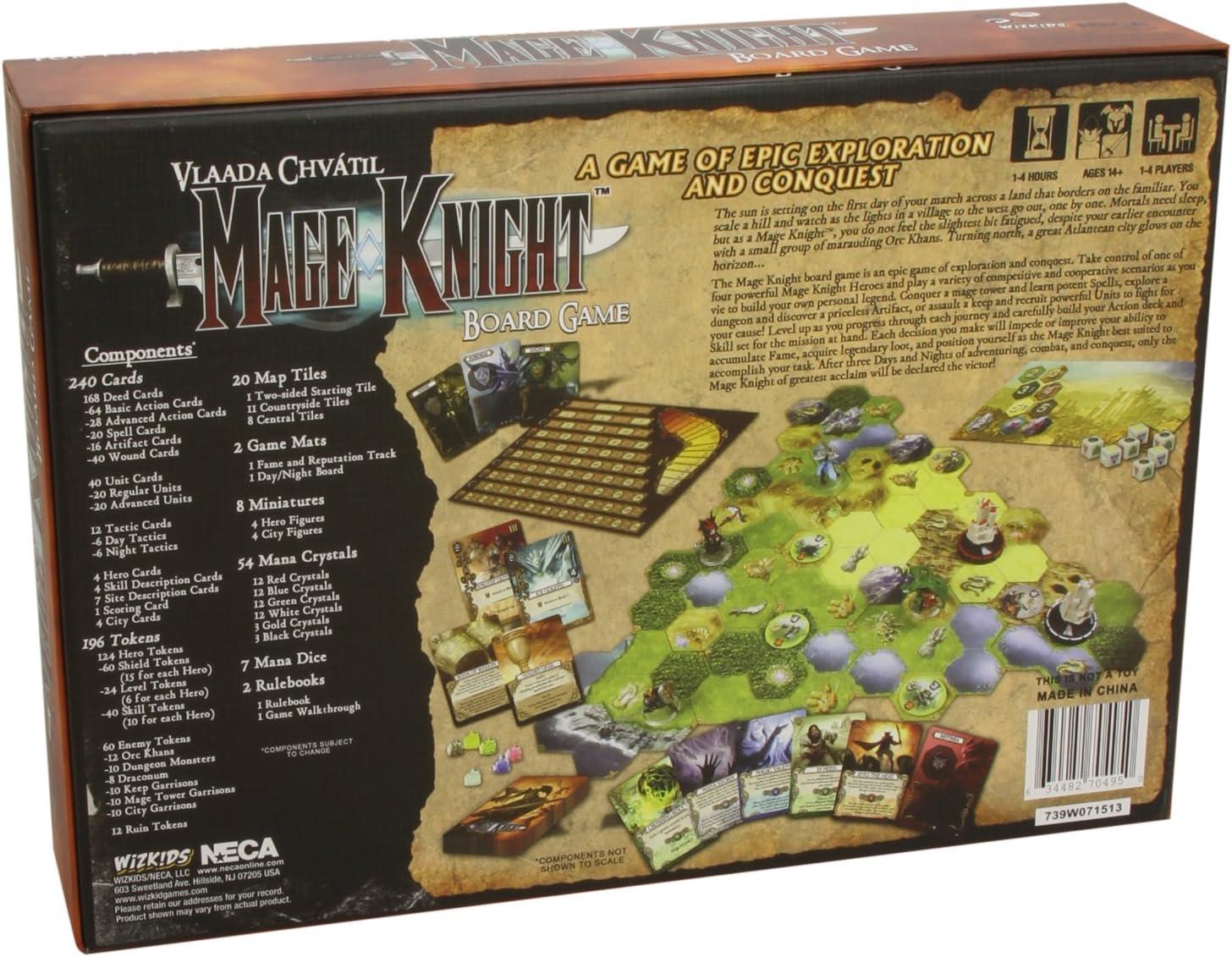 WizKids NECA 70495 Mage Knight - Juego de Mesa (Instrucciones en inglés): Amazon.es: Juguetes y juegos