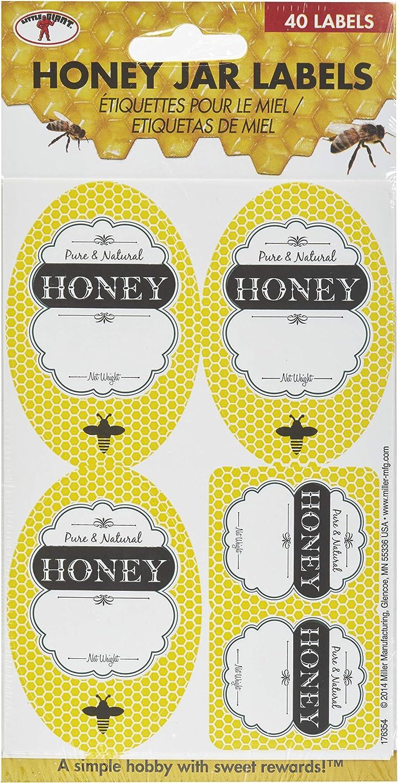 Little Giant Honey Jar Labels Customization Labels for Honey Jars and Bottles (Item No. HLABEL)