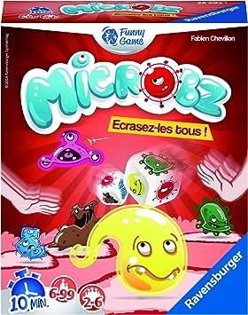 Ravensburger – 26682 – Juego de Acción y de Reflejos – microbz – Juego: Amazon.es: Juguetes y juegos