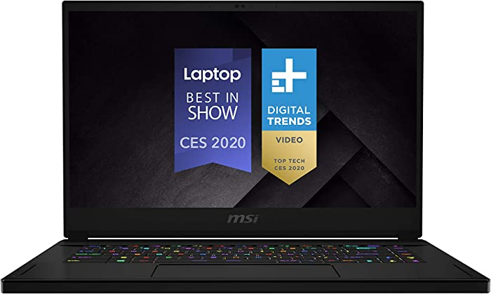 "MSI GS66 Stealth 10SE-442 15.6"" 240Hz 3ms Ultra Thin and Light Gaming Laptop Intel Core i7-10875H RTX2060 16GB 512GB NVMe SSD Win10PRO VR Ready"