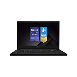 "MSI GS66 Stealth 10SGS-036 15.6"" 300Hz 3ms Ultra Thin and Light Gaming Laptop Intel Core i7-10750H RTX 2080 Super 32GB 512GB NVMe SSD Win10PRO VR Ready"