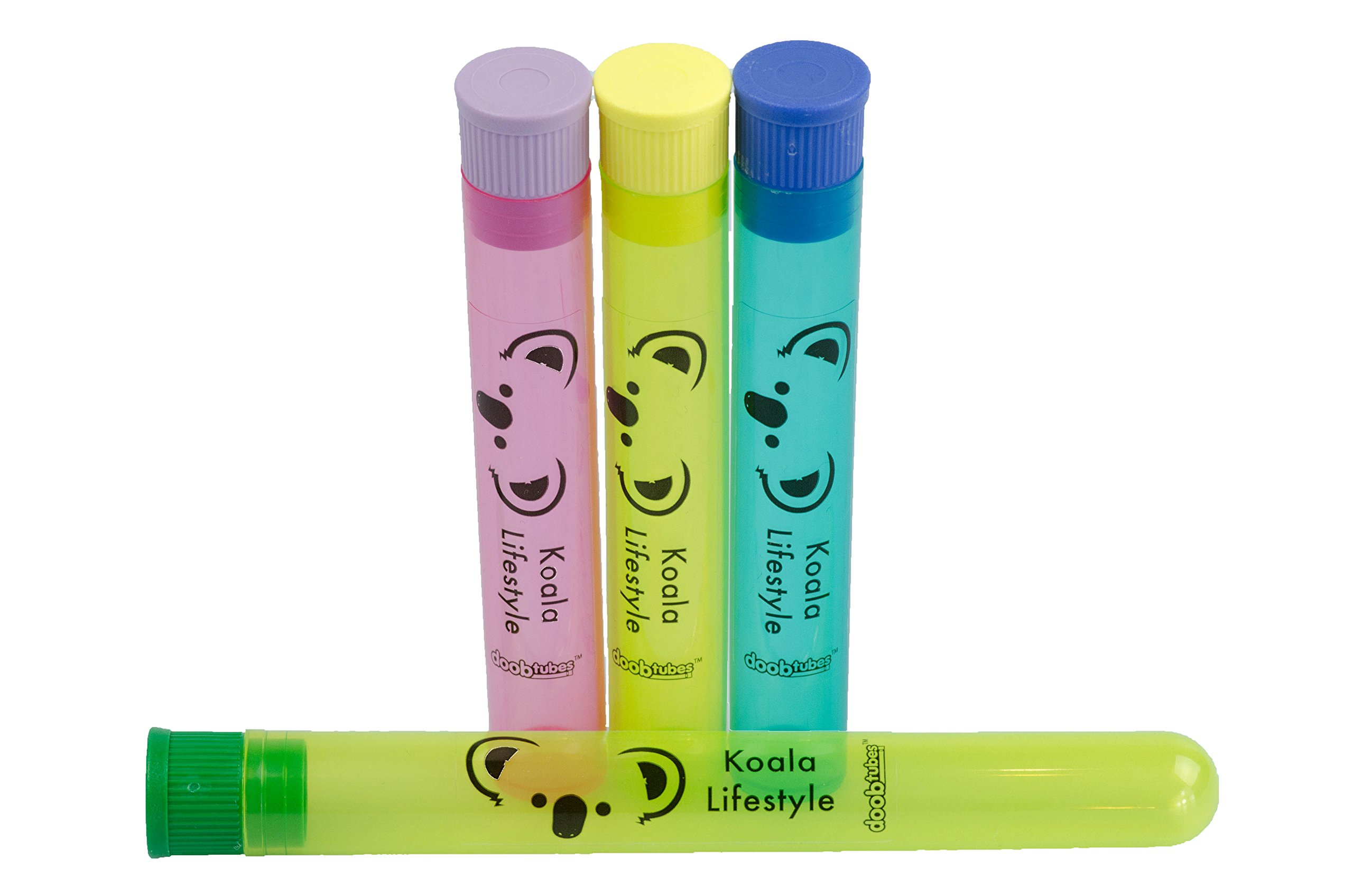 Juicy Jay's Mixed 1 1/4 Flavored Cigarette Rolling Papers Variety Pack (32 Pack x 6 = 192 Papers)   Bundle with 4 Koala Doob Tubes - Classics Flavor by Koala Lifestyle