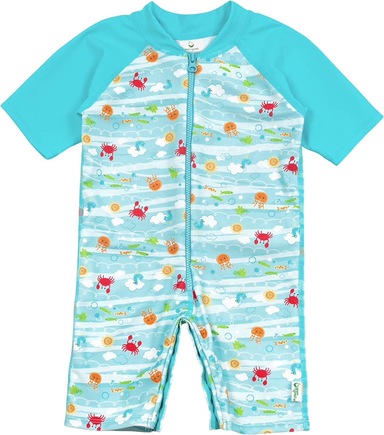 i play Sun Protection/—wet or dry All-day UPF 50 by green sprouts Baby /& Toddler One-piece Sunsuit