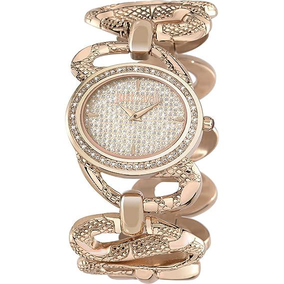 Reloj Snake Just Cavalli r7253577509 braccialato Rosato Mujer Acero